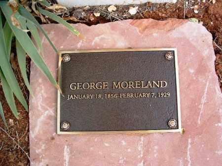 MORELAND, GEORGE - Yavapai County, Arizona | GEORGE MORELAND - Arizona Gravestone Photos