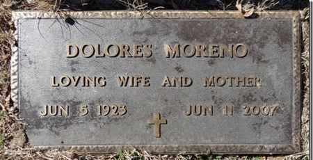 MORENO, DOLORES - Yavapai County, Arizona | DOLORES MORENO - Arizona Gravestone Photos
