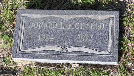 MORFELD, DONALD L. - Yavapai County, Arizona | DONALD L. MORFELD - Arizona Gravestone Photos