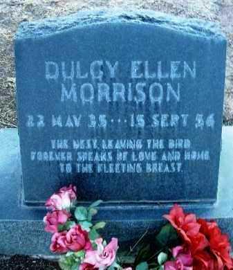 MORRISON, DULCY ELLEN - Yavapai County, Arizona | DULCY ELLEN MORRISON - Arizona Gravestone Photos