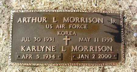MORRISON, ARTHUR LYONS, JR. - Yavapai County, Arizona | ARTHUR LYONS, JR. MORRISON - Arizona Gravestone Photos