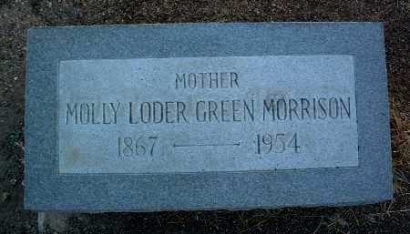 MORRISON, MOLLY LODER - Yavapai County, Arizona | MOLLY LODER MORRISON - Arizona Gravestone Photos
