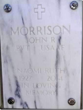 MORRISON, NAOMI RUTH - Yavapai County, Arizona | NAOMI RUTH MORRISON - Arizona Gravestone Photos