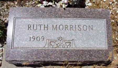 MORRISON, RUTH - Yavapai County, Arizona | RUTH MORRISON - Arizona Gravestone Photos