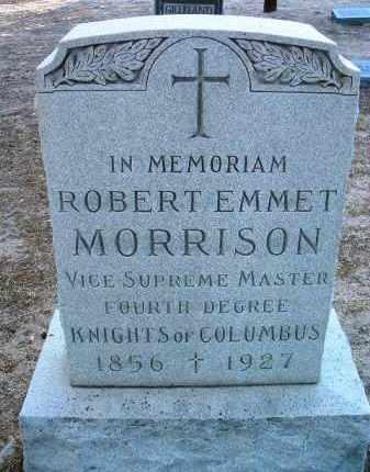 MORRISON, ROBERT EMMET - Yavapai County, Arizona | ROBERT EMMET MORRISON - Arizona Gravestone Photos