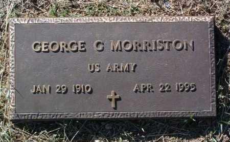 MORRISTON, GEORGE GILBERT - Yavapai County, Arizona | GEORGE GILBERT MORRISTON - Arizona Gravestone Photos