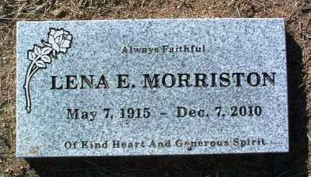 MORRISTON, LENA ELIZABETH - Yavapai County, Arizona | LENA ELIZABETH MORRISTON - Arizona Gravestone Photos