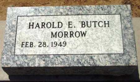 MORROW, HAROLD E.   (BUTCH) - Yavapai County, Arizona | HAROLD E.   (BUTCH) MORROW - Arizona Gravestone Photos