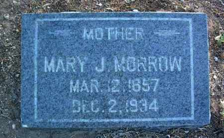 MORROW, MARY J. - Yavapai County, Arizona | MARY J. MORROW - Arizona Gravestone Photos