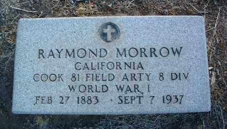 MORROW, RAYMOND - Yavapai County, Arizona | RAYMOND MORROW - Arizona Gravestone Photos
