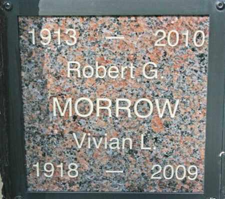 MORROW, ROBERT G. - Yavapai County, Arizona | ROBERT G. MORROW - Arizona Gravestone Photos