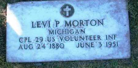 MORTON, LEVI P. - Yavapai County, Arizona | LEVI P. MORTON - Arizona Gravestone Photos
