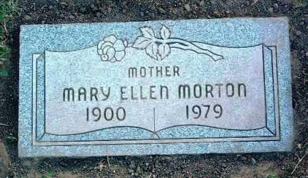 MORTON, MARY ELLEN - Yavapai County, Arizona   MARY ELLEN MORTON - Arizona Gravestone Photos
