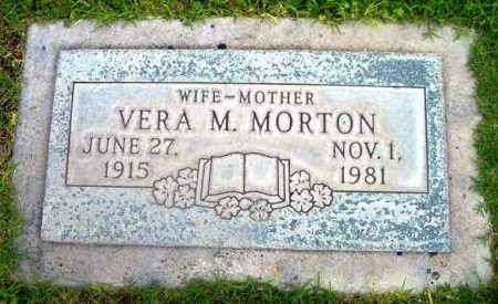 PARRIS MORTON, VERA M. - Yavapai County, Arizona | VERA M. PARRIS MORTON - Arizona Gravestone Photos