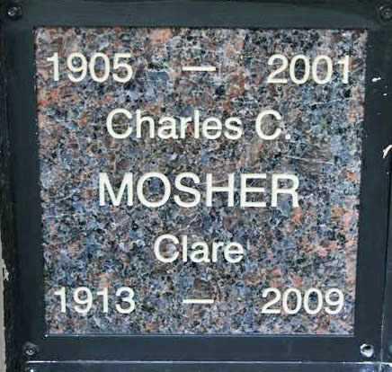 MOSHER, CHARLES CLAYTON - Yavapai County, Arizona | CHARLES CLAYTON MOSHER - Arizona Gravestone Photos