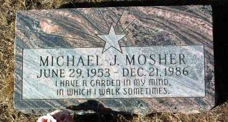 MOSHER, MICHAEL J. - Yavapai County, Arizona | MICHAEL J. MOSHER - Arizona Gravestone Photos