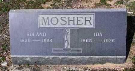 MOSHER, IDA - Yavapai County, Arizona   IDA MOSHER - Arizona Gravestone Photos