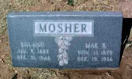 MOSHER, MAE/MARY BELLE - Yavapai County, Arizona | MAE/MARY BELLE MOSHER - Arizona Gravestone Photos