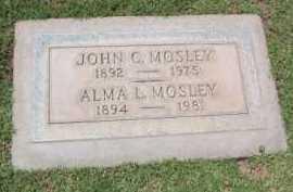 MOSLEY, JOHN CLINTON - Yavapai County, Arizona | JOHN CLINTON MOSLEY - Arizona Gravestone Photos