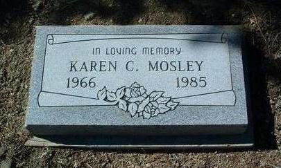 MOSLEY, KAREN C. - Yavapai County, Arizona | KAREN C. MOSLEY - Arizona Gravestone Photos
