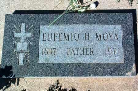 MOYA, EUFEMIO H. - Yavapai County, Arizona | EUFEMIO H. MOYA - Arizona Gravestone Photos