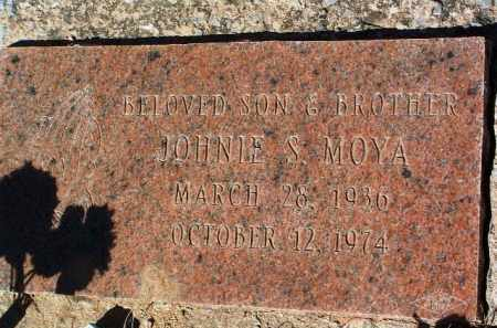 MOYA, JOHNIE S. - Yavapai County, Arizona | JOHNIE S. MOYA - Arizona Gravestone Photos