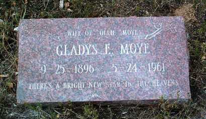 ROREX MOYE, GLADYS E. - Yavapai County, Arizona | GLADYS E. ROREX MOYE - Arizona Gravestone Photos
