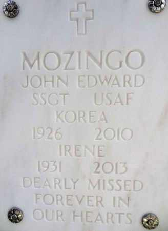 MOZINGO, JOHN EDWARD - Yavapai County, Arizona | JOHN EDWARD MOZINGO - Arizona Gravestone Photos