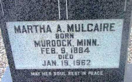 MULCAIRE, MARTHA AGNES - Yavapai County, Arizona | MARTHA AGNES MULCAIRE - Arizona Gravestone Photos