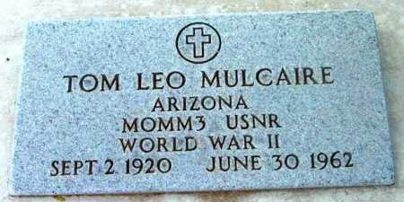 MULCAIRE, THOMAS LEO - Yavapai County, Arizona   THOMAS LEO MULCAIRE - Arizona Gravestone Photos