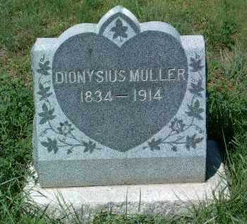 MULLER, DIONYSIUS - Yavapai County, Arizona   DIONYSIUS MULLER - Arizona Gravestone Photos
