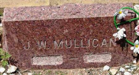 MULLICAN, JAMES W. - Yavapai County, Arizona   JAMES W. MULLICAN - Arizona Gravestone Photos