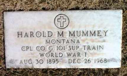 MUMMEY, HAROLD MONFORD - Yavapai County, Arizona | HAROLD MONFORD MUMMEY - Arizona Gravestone Photos