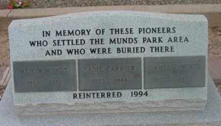 CARRIER, SADIE - Yavapai County, Arizona | SADIE CARRIER - Arizona Gravestone Photos