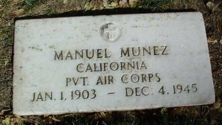 MUNEZ, MANUEL - Yavapai County, Arizona   MANUEL MUNEZ - Arizona Gravestone Photos