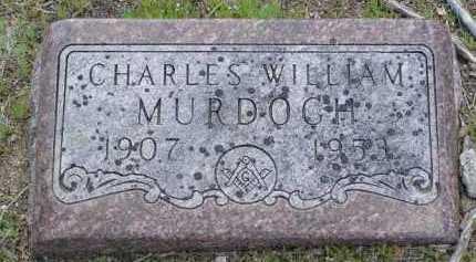 MURDOCH, CHARLES WILLIAM - Yavapai County, Arizona | CHARLES WILLIAM MURDOCH - Arizona Gravestone Photos