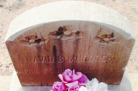 MURDOCK, DAVID BENJAMIN - Yavapai County, Arizona | DAVID BENJAMIN MURDOCK - Arizona Gravestone Photos