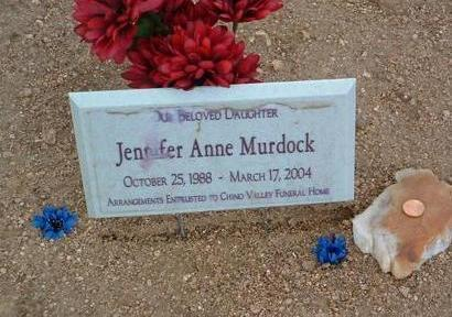 MURDOCK, JENNIFER ANNE - Yavapai County, Arizona | JENNIFER ANNE MURDOCK - Arizona Gravestone Photos