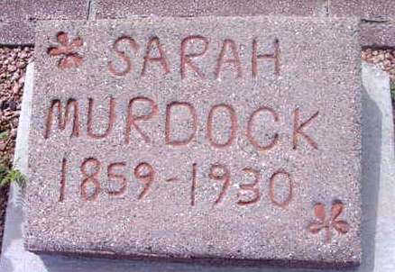 MURDOCK, SARAH SMITH - Yavapai County, Arizona | SARAH SMITH MURDOCK - Arizona Gravestone Photos