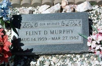 MURPHY, FLINT D. - Yavapai County, Arizona | FLINT D. MURPHY - Arizona Gravestone Photos