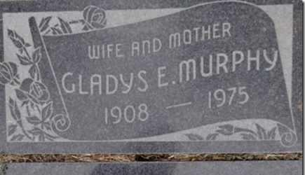 MURPHY, GLADYS ESTELLA - Yavapai County, Arizona   GLADYS ESTELLA MURPHY - Arizona Gravestone Photos