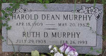 MURPHY, HAROLD DEAN - Yavapai County, Arizona   HAROLD DEAN MURPHY - Arizona Gravestone Photos