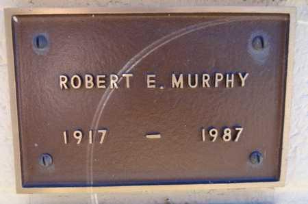 MURPHY, ROBERT ELMER - Yavapai County, Arizona   ROBERT ELMER MURPHY - Arizona Gravestone Photos