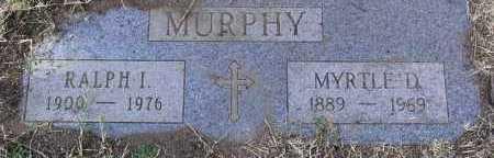 MURPHY, MYRTLE EDNA - Yavapai County, Arizona | MYRTLE EDNA MURPHY - Arizona Gravestone Photos