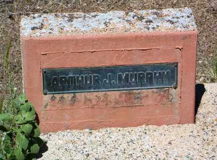 MURPHY, ARTHUR J. - Yavapai County, Arizona   ARTHUR J. MURPHY - Arizona Gravestone Photos