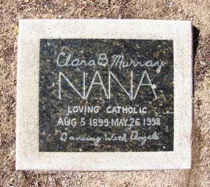 BLAZECKI MURRAY, CLARA - Yavapai County, Arizona | CLARA BLAZECKI MURRAY - Arizona Gravestone Photos