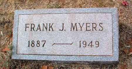 MYERS, FRANK JAMES - Yavapai County, Arizona   FRANK JAMES MYERS - Arizona Gravestone Photos