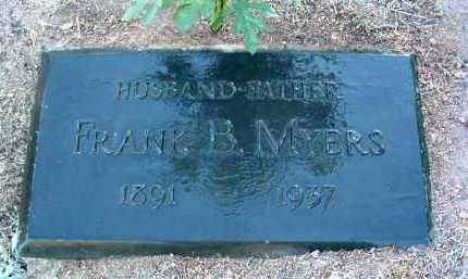 MYERS, FRANK BARBER - Yavapai County, Arizona | FRANK BARBER MYERS - Arizona Gravestone Photos