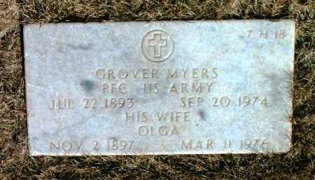 CHAMBERS MYERS, OLGA B. - Yavapai County, Arizona | OLGA B. CHAMBERS MYERS - Arizona Gravestone Photos