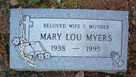 MYERS, MARY LOU - Yavapai County, Arizona | MARY LOU MYERS - Arizona Gravestone Photos